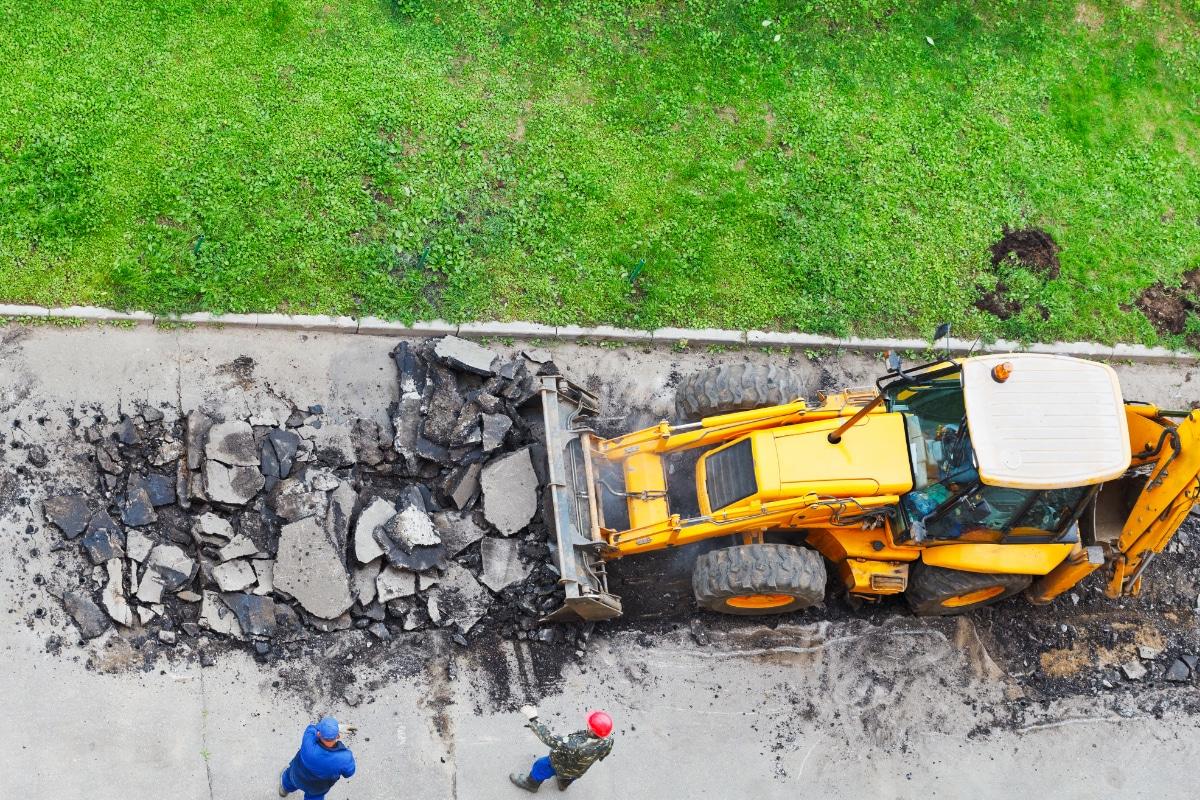 asfalt prijs afvoeren